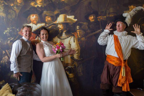 bruidsreportage trouwambtenaar