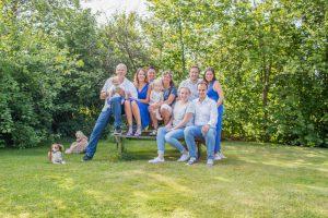 familie fotoshoot door de fotofamkes