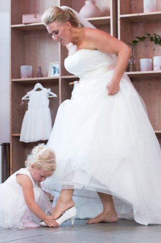 Bruidsfotografie door twee fotografen Fotofamkes Friesland