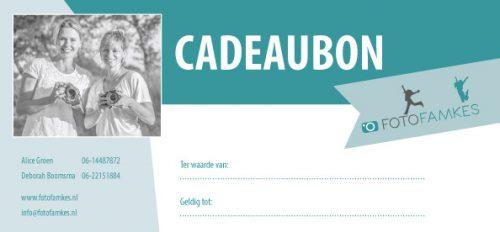 Cadeaubon Fotofamkes